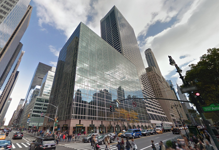 1100 Sixth Ave., net leased by Brookfield Properties and Swig Co., at the corner of 42nd Street