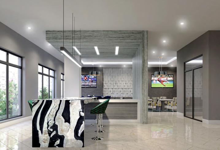 First floor amenities Allure Apollo