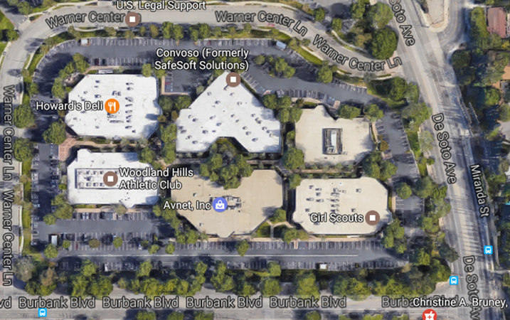 24-Acre Mixed-Use Project in Warner Center Planned In Burbank, CA.