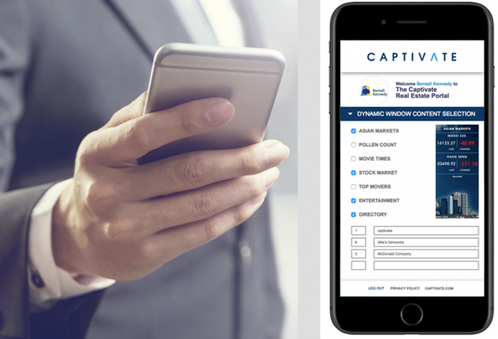 Captivate Mobilizes Digital Amenity To Meet Modern Workforce's Needs