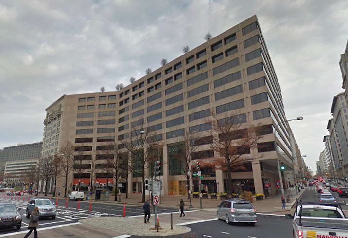 The office building at 1201 Pennsylvania Ave. NW