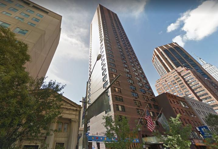 The former Affinia Dumont hotel in Midtown Manhattan