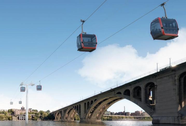 The Latest On The Georgetown-Rosslyn Gondola