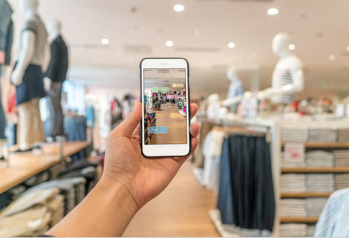 Experiential retail technology