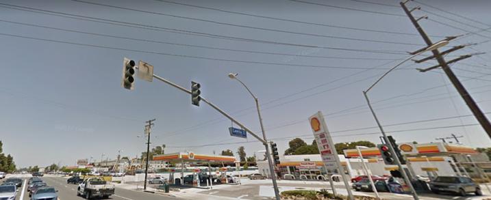 Lomita and Crenshaw Boulevards in Torrance, Calif.