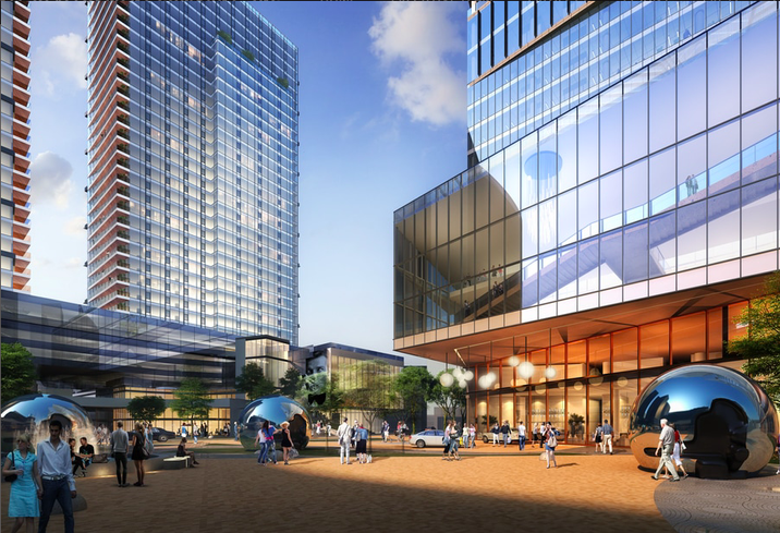 View at Tysons plaza rendering