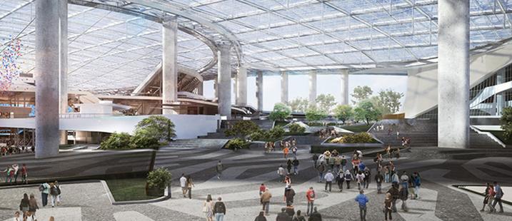 Inglewood NFL Stadium rendering