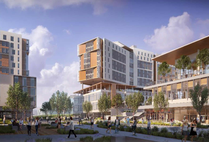 UCSD Will Break Ground In 2018 On $608M, Transit-Oriented, Mixed-Use Complex On West Campus