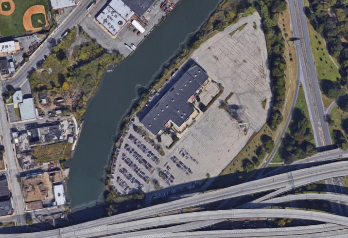 Satellite view of 2505 Bruckner Blvd. in the Bronx