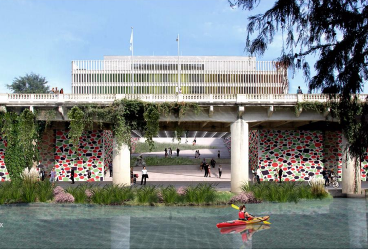 Post HTX Bayou Entrance Rendering