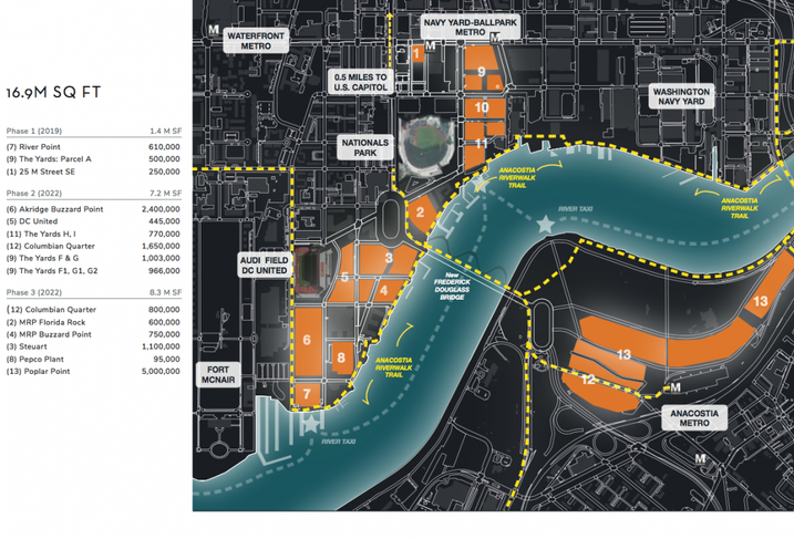 Anacostia Riverfront Amazon HQ2 site