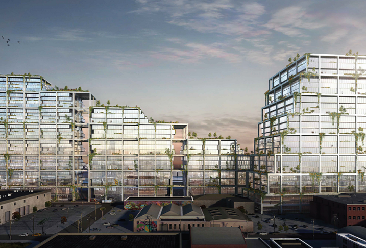 Rendering of 670 Mesquit in the Arts District