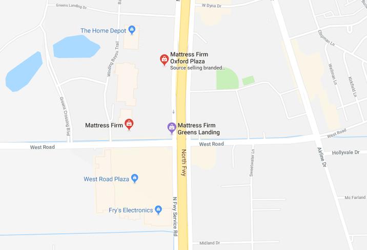 Mattress Firms, I-45 & West Road