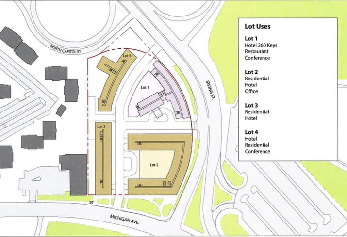 Buchanan Pinkard Brookland Site Plan
