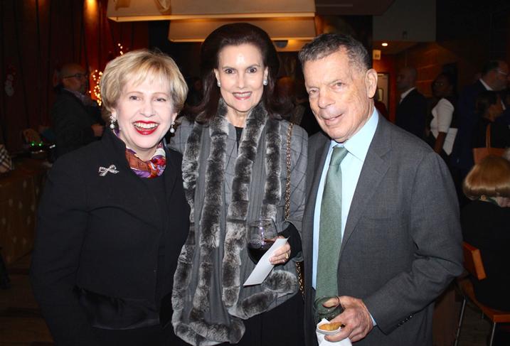 Lisa Barry, Alexandra De Borchgrave and Conrad Cafritz
