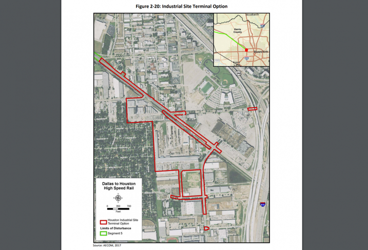 TCRR Houston Industrial Site Terminal Option
