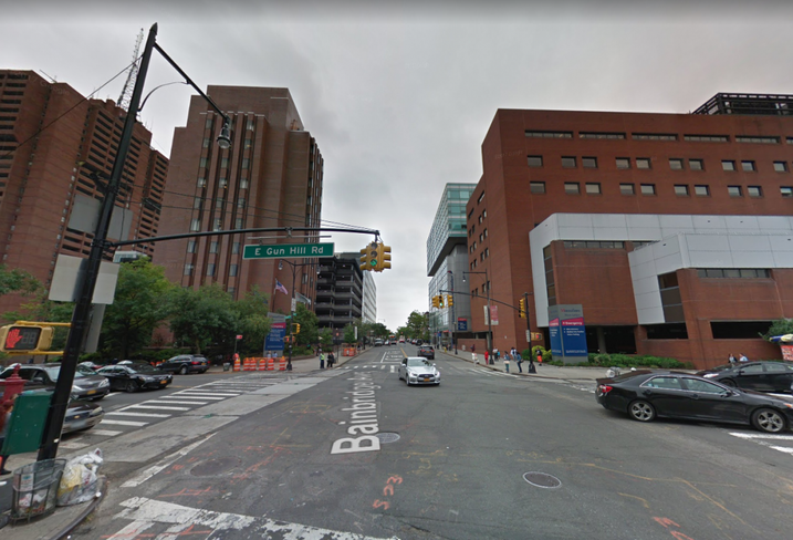 The Montefiore medical campus in the Bronx