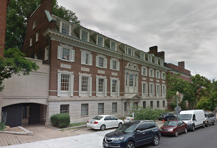 2320-2330 S St. NW in Washington, D.C., the former Textile Museum that Jeff Bezos bought for $23M