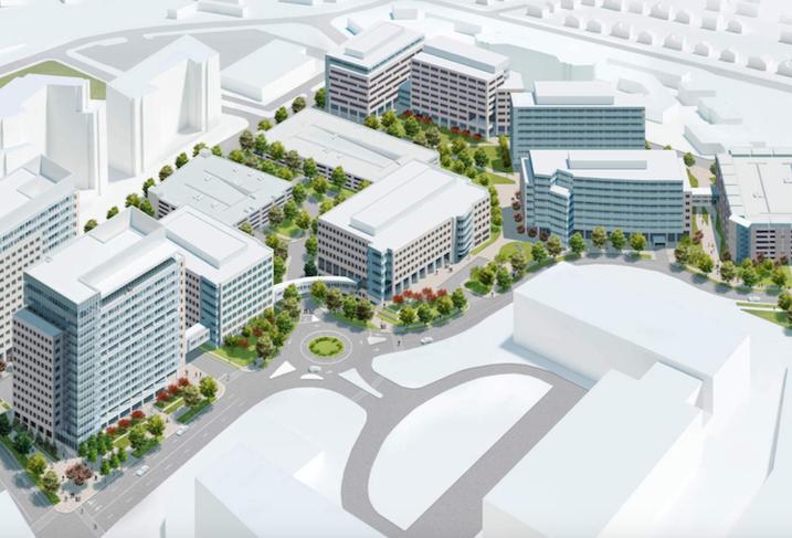 Mitre Tysons campus rendering