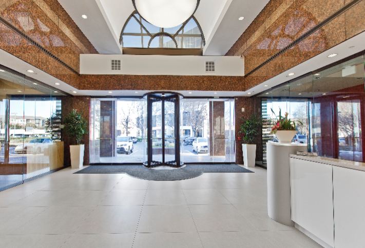 Front lobby of 4851 LBJ
