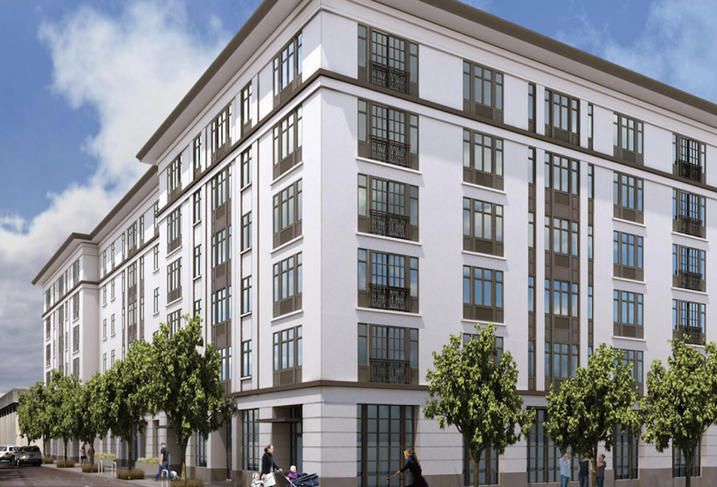 Rendering of Luxuria, the apartment building ELD Properties is building in Downtown New Rochelle