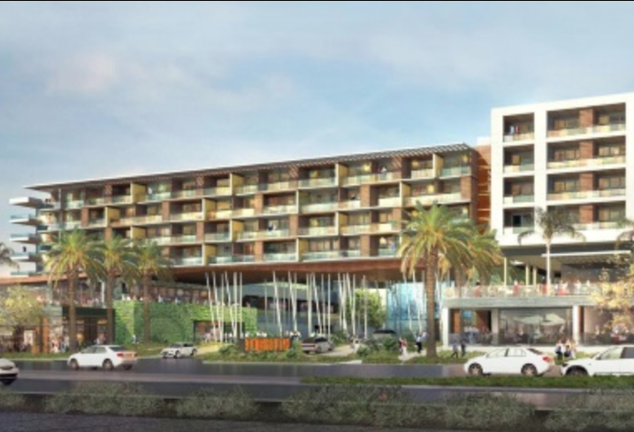 The Anaheim Hotel underwent an $8M renovation project but will later be razed to make way for a new upscale hotel.