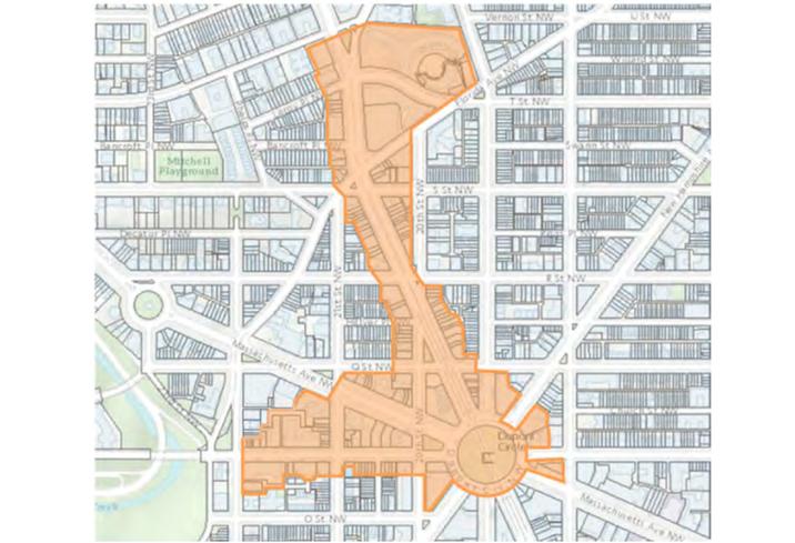 Dupont Circle BID boundaries