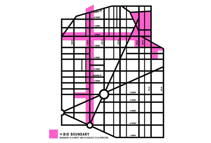MidCity BID Proposed Boundary