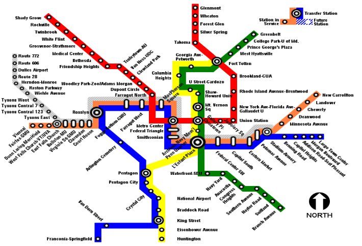 Silver Line Map One Big Question: Can The Silver Line Save Loudoun's Office Market?