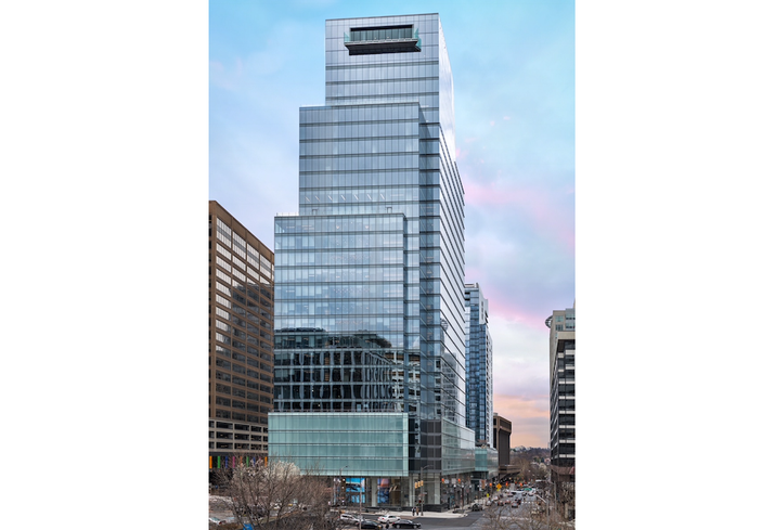 The Central Place office building in Rosslyn