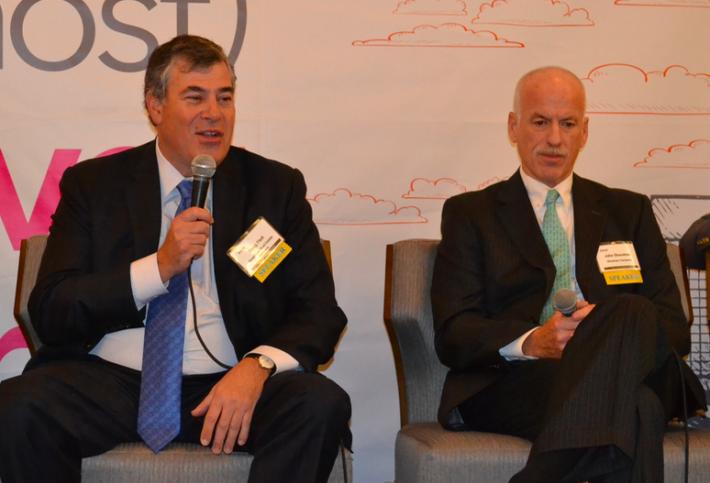 American Real Estate Properties CEO Doug Fleit and The Shooshan Co. Chairman John Shooshan