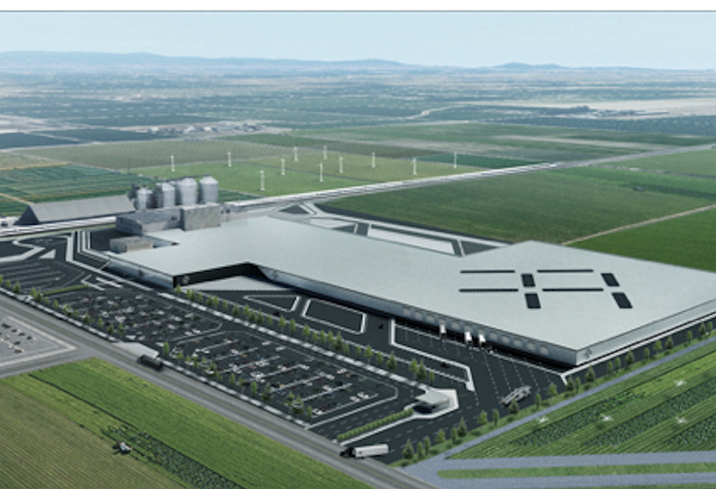 Bernards construction company has been chosen as the general contractor for Faraday Future's 1M SF factory in Hanford, CA.