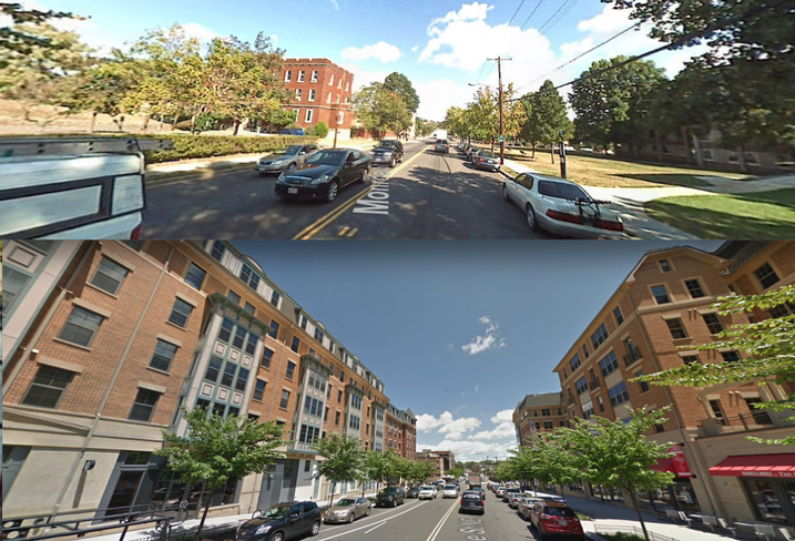 Brookland October 2007 and July 2017