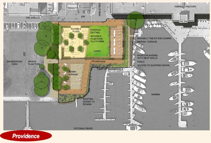 Alexandria waterfront park