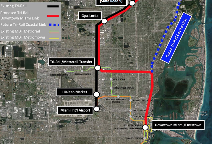 Brightline Gets All the Attention, But Tri-Rail's Going Into Downtown Miami Next Year