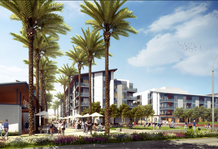 Rendering of Agrihood in Santa Clara