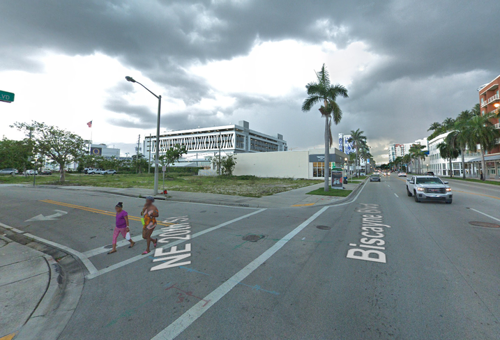 2000 Biscayne Blvd. in Miami, the site of a future Kushner Cos. apartment project.