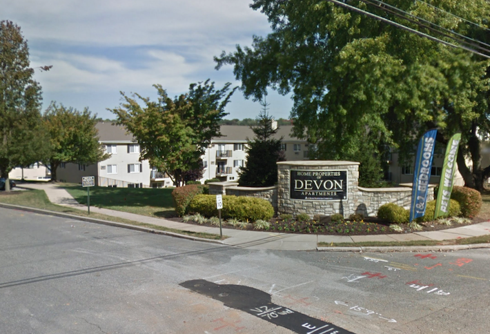 The Home Properties of Devon apartments, a suburban Philadelphia community Morgan Properties acquired from Lone Star