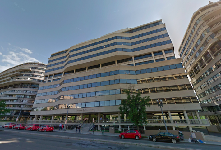 The Watergate Office Building at 2600 Virginia Ave. NW