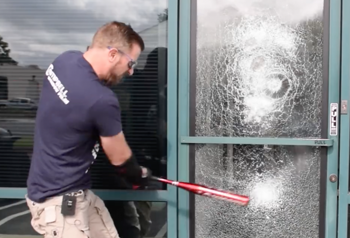 Security Glass Key To Commercial Building Theft Prevention
