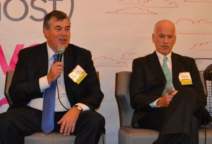 AREP CEO Doug Fleit and Shooshan Cos. Chairman John Shooshan