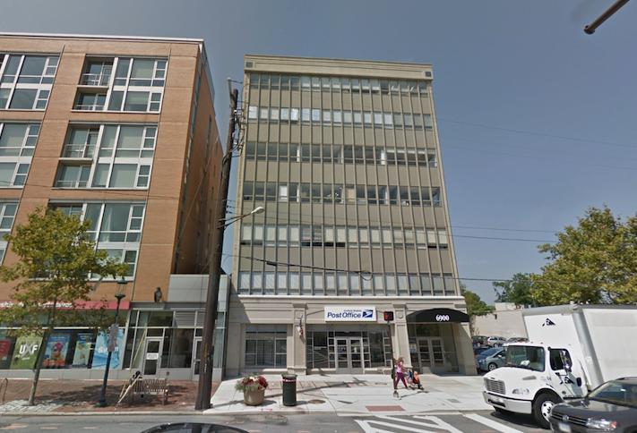 The office building at 6900 Wisconsin Ave. in Bethesda