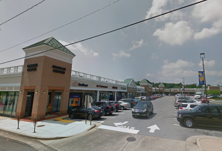 The Bradlee Center retail property in Alexandria
