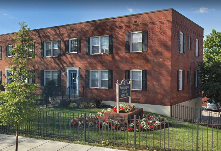 Worthington Woods, a 392-unit garden-style affordable housing community in Southeast D.C.