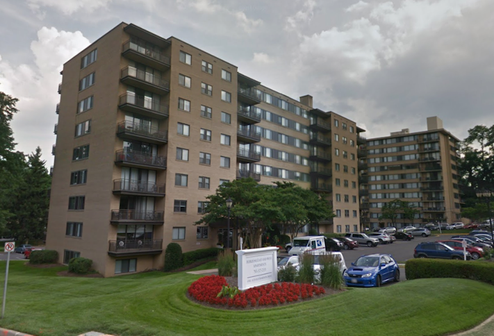 The Horizons Apartments at 4300 Old Dominion Drive in Arlington