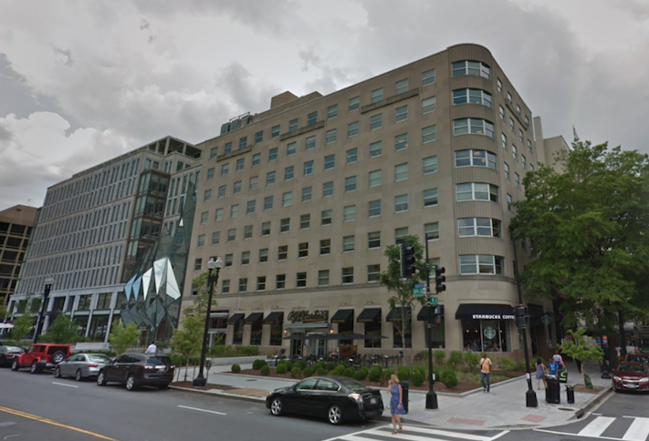 The office building at 1600 K St. NW