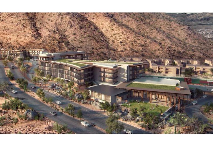 A rendering of the Marriott Autograph in Scottsdale
