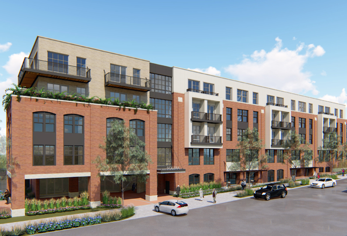 A rendering of the Modena Reserve at Kensington project