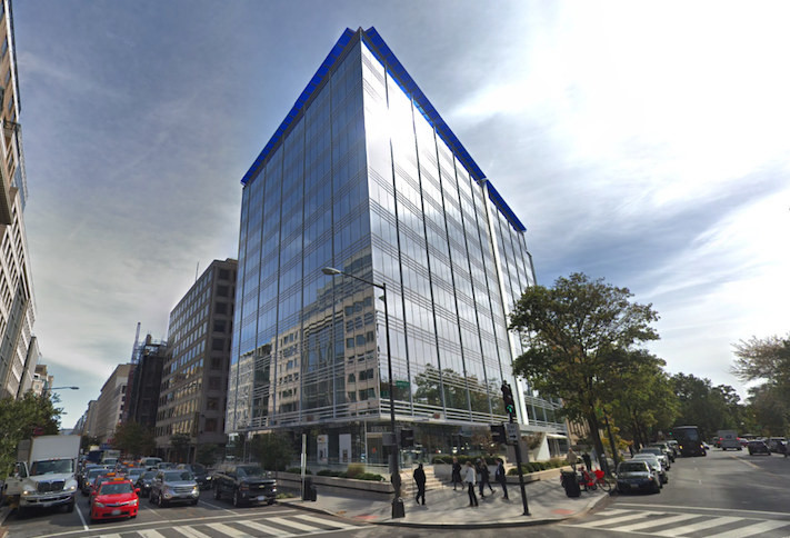 The office building at 815 Connecticut Ave. NW