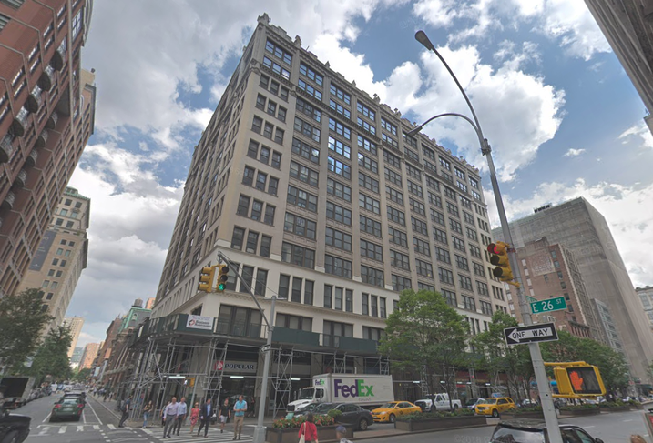 345 Park Ave. South, a mixed-use building near Madison Square Park in Manhattan